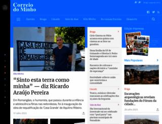 correiodominho.pt screenshot