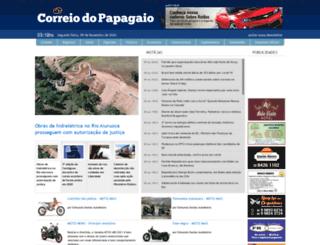 correiodopapagaio.com.br screenshot