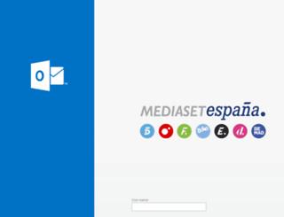 correo.telecinco.es screenshot
