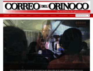 correodelorinoco.gob.ve screenshot