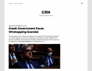 corruptionresearchnetwork.org screenshot
