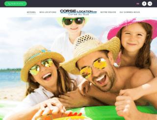 corse-location.com screenshot