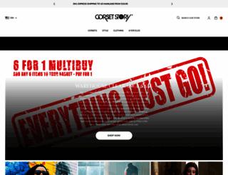 corset-story.com screenshot