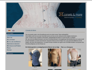 corsets-and-more.de screenshot