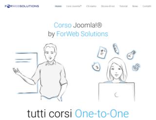 corsijoomla.com screenshot