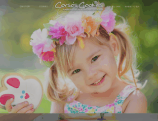 corsoscookies.com screenshot