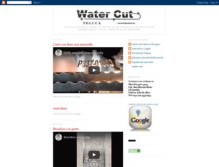 corte-con-agua.blogspot.mx screenshot