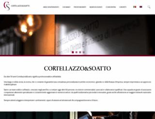 cortellazzo-soatto.it screenshot