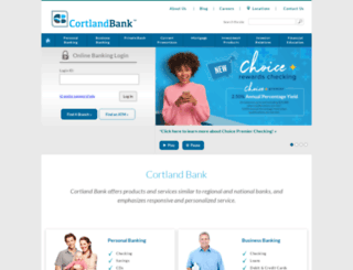 cortland-banks.com screenshot