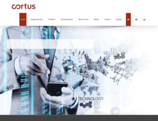 cortus.com screenshot