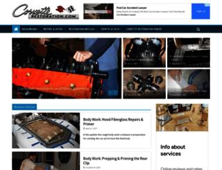 corvette-restoration.com screenshot