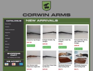corwin-arms.com screenshot