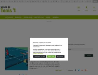 cosasdetenis.com screenshot