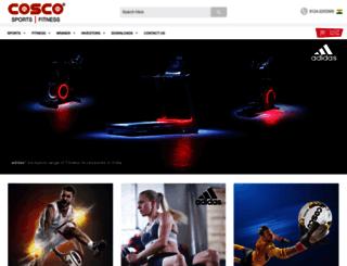 cosco.in screenshot