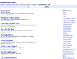 coseguzzistiche.org screenshot