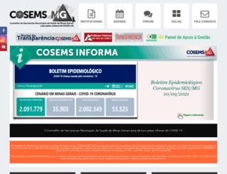 cosemsmg.org.br screenshot