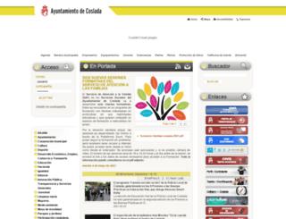 coslada.es screenshot