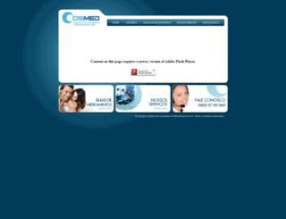 cosmed.ind.br screenshot