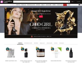 cosmeticaonline.net screenshot