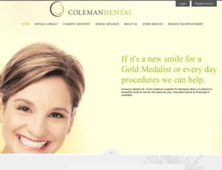 cosmeticdental.com screenshot