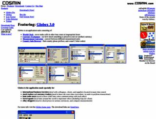cosmin.com screenshot