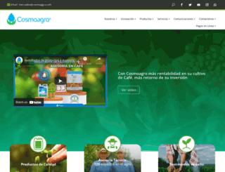 cosmoagro.com screenshot