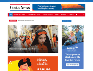 costa-news.com screenshot