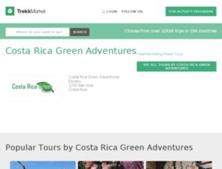 costa-rica-green-adventures1.trekksoft.com screenshot