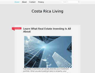 costaricaliving.org screenshot