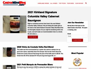 costcowineblog.com screenshot