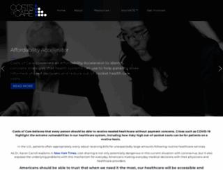 costsofcare.org screenshot