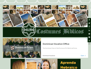 costumesbiblicos.com screenshot
