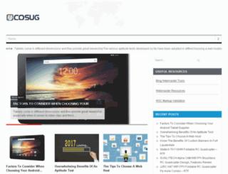 cosug.net screenshot