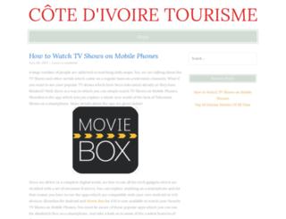 cote-ivoire-tourisme.com screenshot