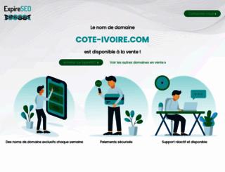 cote-ivoire.com screenshot