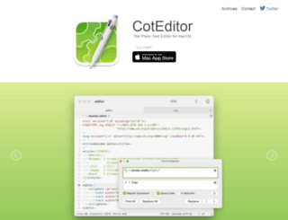 coteditor.com screenshot