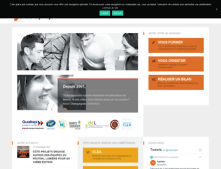 coteprojets.org screenshot