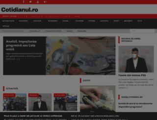 cotidianul.ro screenshot
