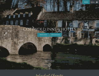 cotswold-inns-hotels.co.uk screenshot