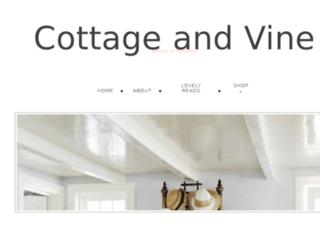 cottageandvine.blogspot.com screenshot