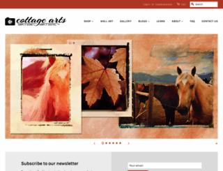 cottagearts.net screenshot