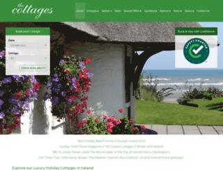 cottages-ireland.com screenshot