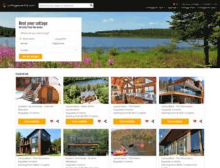 cottagesrental.com screenshot