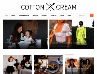 cottonandcream.nl screenshot