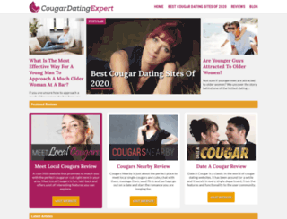 cougardatingexpert.com screenshot