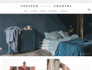 couleur-chanvre.com screenshot
