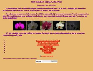 couleur-orchidee.fr screenshot