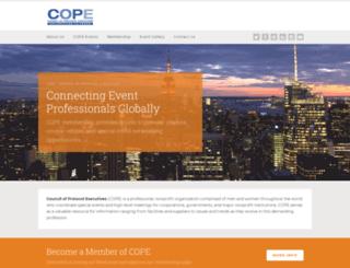 councilofprotocolexecutives.org screenshot