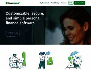 countabout.com screenshot