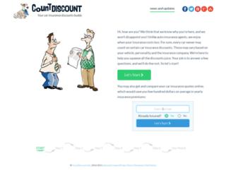 countdiscount.info screenshot